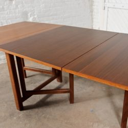 Vintage Bruno Mathsson Style Maria Folding Table