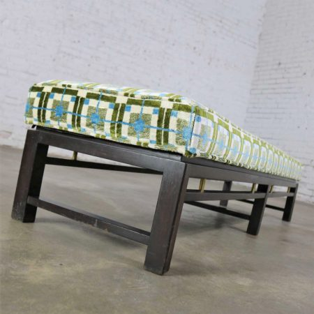 Edward Wormley for Dunbar Mid Century Modern Bench Newly Upholstered