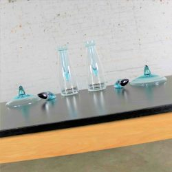 Vintage Schott Zwiesel Glass Triple Use Vase Decanter Bowl for Zwiesel Kristallglas