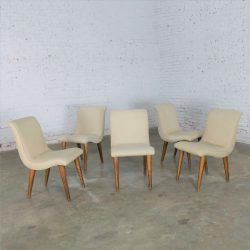 Dining Chairs Attributed to ModernMates by Leslie Diamond for Conant Ball, Set 5