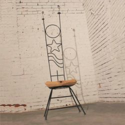 """The Kid Must Be Psychic"" Sculptural Chair by Jason Startup"