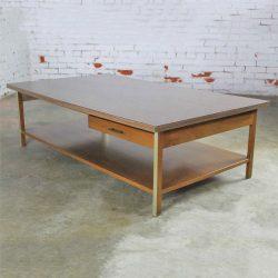 Vintage Paul McCobb Linear Group Coffee Table by Calvin