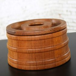 Scandinavian Modern Teak Ice Bucket by Jens Quistgaard for Dansk
