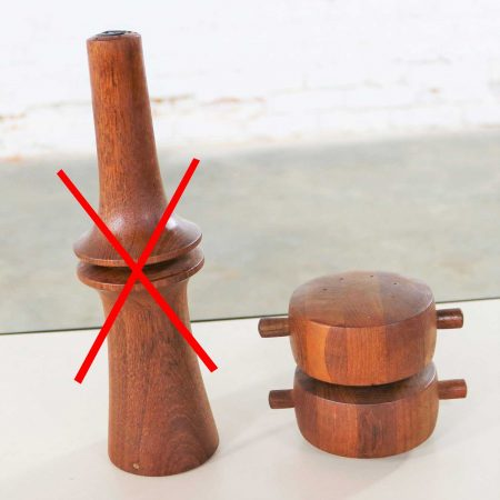 Scandinavian Modern Teak Pepper Mills by Jens Quistgaard for Dansk Designs