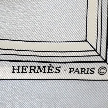 "Hermes Silk ""Quai aux Fleurs"" Carré, Scarf Designed by Hugo Grygkar"