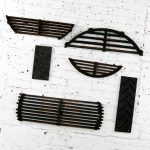 Antique Industrial Foundry Patterns for Molds Handmade Set of Six – Group 1