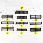 Antique Industrial Slatted Foundry Patterns for Molds Handmade Wood – Group 4