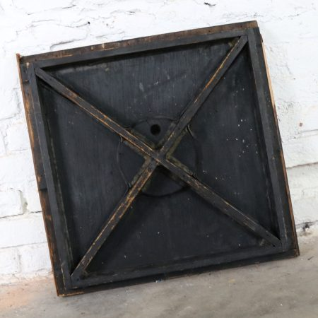 Antique Industrial Foundry Pattern for Mold Handmade Wood – Number 8