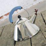Michael Graves Stainless Steel Whistling Bird Tea Kettle for Alessi