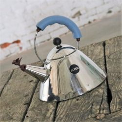 Michael Graves Stainless Steel Whistling Bird Tea Kettle for Alessi