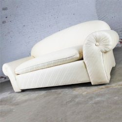 Vintage Donghia Sofa in Original White Vice Versa Fabric