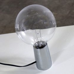 Bill Curry Pick-Up Bulb Table Lamp in Chrome for Design Line