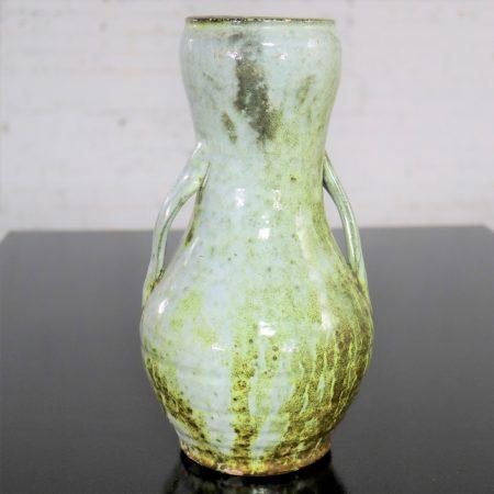 Sunset Mountain Pottery Vase