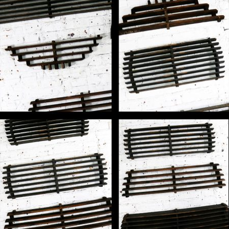 Antique Industrial Foundry Patterns for Molds Handmade Wood Set of Six – Group 6