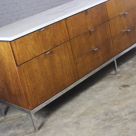 Florence Knoll Multi-Drawer Credenza by Knoll Associates, Inc, circa 1961