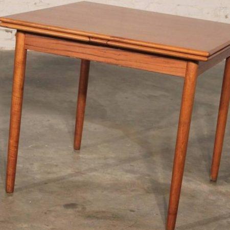 Vintage Mackintosh Style High Back Teak Dining Chairs