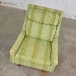 Vintage Mid Century Modern High Back Lounge Chair by Flair Division of Bernhardt