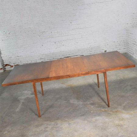 Mid Century Modern Paul McCobb Extension Planner Group Dining Table for Winchendon