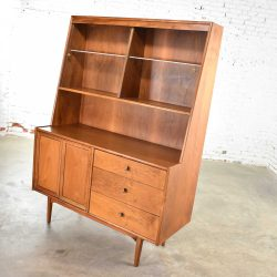 Drexel Declaration China Hutch Cabinet by Kipp Stewart and Stewart MacDougall