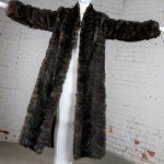Vintage Full Length Mink Coat circa 1980