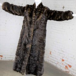 Vintage Full Length Mink Coat circa 1980