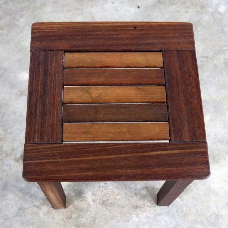 Vintage Windsor Natural Teak Outdoor Side Table