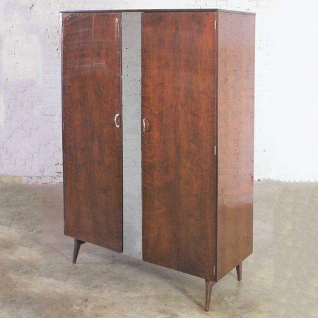 Mid Century Modern Tola Wardrobe by Alphons Loebenstein for Meredew Design '62