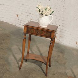 Antique French Hand Painted Night Stand