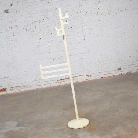 Modern Italian White Towel or Coat Rack by Makio Hasuike for Gedy