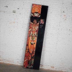 Large Framed Jimi Hendrix Panel Attributed to Jimi Hendrix Traveling Exhibit