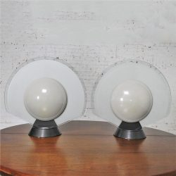 Vintage Pair Tikal 1555 Table Lamps for Flos-Arteluce by Pier Giuseppe Ramella