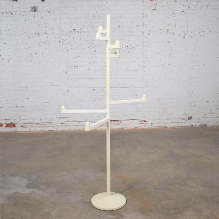 Modern Italian White Towel or Coat Rack by Makio Hasuike for Gedy