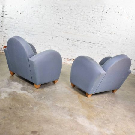 Michael Graves Postmodern Club or Lounge Chairs by David Edward Company 32 Avail