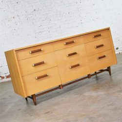 Mid Century Modern Credenza by Merton Gershun for American of Martinsville's Urban Suburban Line
