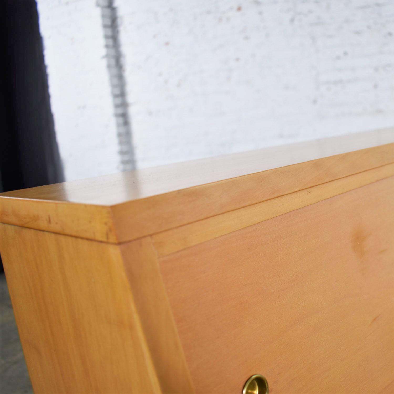 Mid Century Modern American Of Martinsville Merton Gershun Urban Suburban Full Size Bookcase Headboard Warehouse 414