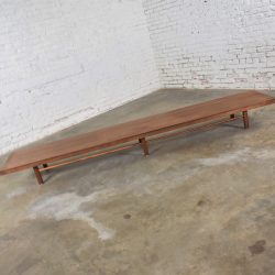 Mid-Century Modern Long Low Milo Baughman for Thayer Coggin Coffee Table or Bench