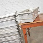 Vintage Aluminum Troughs Planters Sinks Containers Vessels 8 Sold Separately