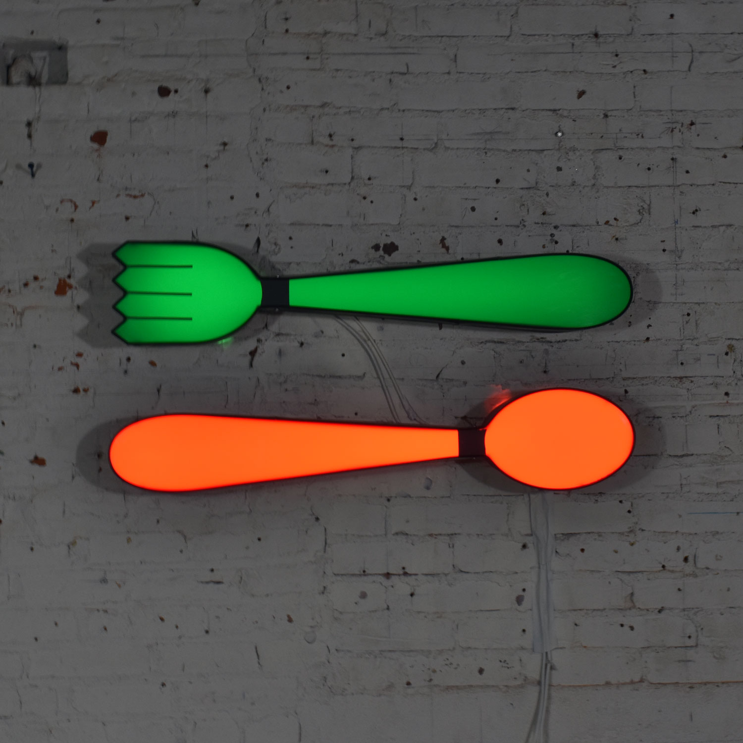 Red Fork And Spoon Wall Decor  from warehouse414.com