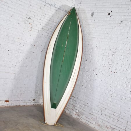 Vintage Wooden Rowboat for Maritime or Nautical Décor