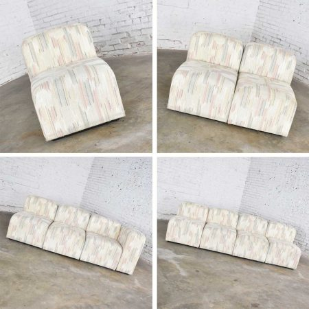 26 Modern Modular Back & Seating Sections for Sofas Chairs Ottomans Benches by Charlotte Chair Co.
