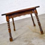 Catalina California Taylor or Mission Arts & Crafts Style Spanish Tile Top Side or End Table