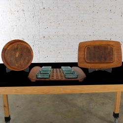 Selection of 3 Dansk Designs Teak Trays or Cutting Boards by Jens Quistgaard