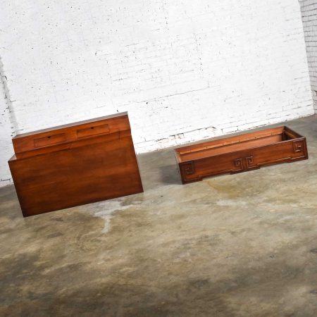 Art Deco Style Mahogany Entry Desk or Bar by IMA S.A. Bogota, ColombiaArt Deco Style Mahogany Entry Desk or Bar by IMA S.A. Bogota, Colombia