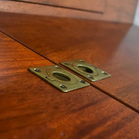 Art Deco Style Mahogany Entry Desk or Bar by IMA S.A. Bogota, Colombia