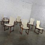 Scandinavian Modern Danish Rosewood Dining Chairs by Art Furn 4 Side & 2 Armchairs Set of 6