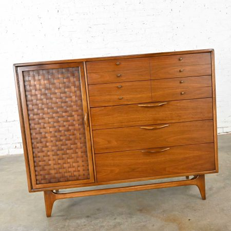 Mid-Century Modern Console Dresser or Chest of Drawers by Warren Church for Lane Perception