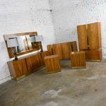 Vintage Modern Rosewood Complete Bedroom Set by Milo Baughman for Thayer Coggin