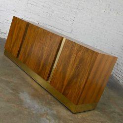 Vintage Modern Rosewood Dresser Credenza or Buffet by Milo Baughman for Thayer Coggin