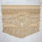 Don Freedman Modern Textile Woven Wall Hanging #436 c/o Tree Time Inc. for Interlude